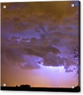 Colorado Cloud To Cloud Lightning Thunderstorm 27g Acrylic Print