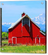Colorado Country Fine Art Print Acrylic Print