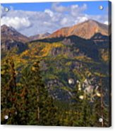 Colorado Fall Acrylic Print