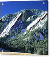 All Five Colorado Flatirons Acrylic Print