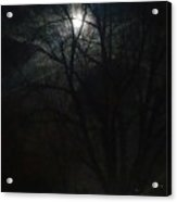 Colorado Full Moon Acrylic Print