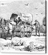 Colorado Gold Rush, 1859 Acrylic Print