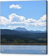 Colorado Mountain Lake Acrylic Print