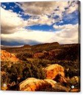 Colorado Mountain Splendor Acrylic Print