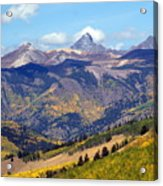 Colorado Mountains 1 Acrylic Print