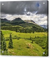 Colorado Mountains After Summer Rain Acrylic Print