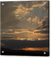 Colorado Radient Sunset Acrylic Print