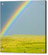 Colorado Rainbow Acrylic Print