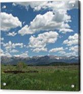 Colorado Ranch Acrylic Print