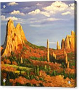 Colorado Red Rocks Acrylic Print