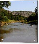 Colorado River Bend Texas Acrylic Print