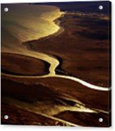 Colorado River Delta Acrylic Print
