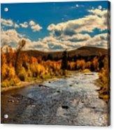 Colorado River In Autumn Acrylic Print