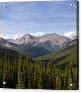Colorado Rocky Mountains Near Monarch Pass Acrylic Print