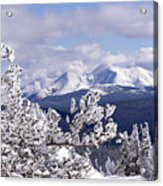 Colorado Sawatch Mountain Range Acrylic Print