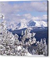 Colorado Sawatch Mountain Range Acrylic Print