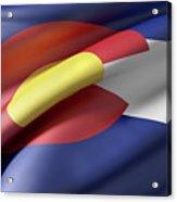 Colorado State Flag Acrylic Print