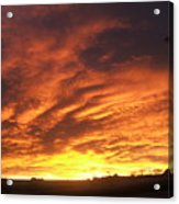 Colorado Sunrise 4 Acrylic Print