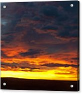Colorado Sunrise February Acrylic Print