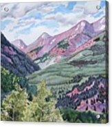 Colorado Valley Acrylic Print