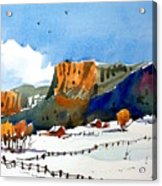 Colorado Winter 6 Acrylic Print