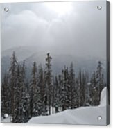 Colorado Winter Peace Acrylic Print