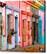 Colored Casas By Darian Day Acrylic Print