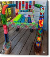 Colored Chair Acrylic Print