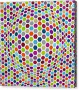 Colored Geometries Acrylic Print