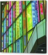 Colored Glass 1 Acrylic Print