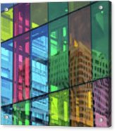 Colored Glass 10 Acrylic Print