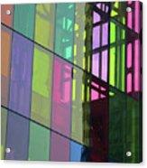 Colored Glass 11 Acrylic Print