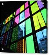 Colored Glass 3 Acrylic Print