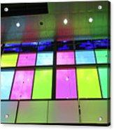 Colored Glass 8 Acrylic Print