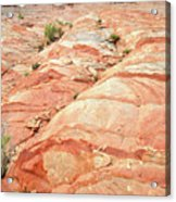 Colored Hill In Valley Of Fire Acrylic Print