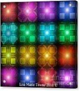 Colored Lights Acrylic Print