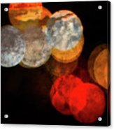 Colored Moons 1 Acrylic Print
