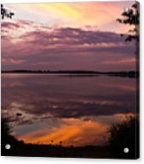 Colored Reflections Acrylic Print