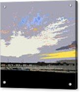 Colored Sky Acrylic Print
