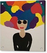 Color Fro Acrylic Print