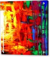 Colorful Abstract2of2 Acrylic Print