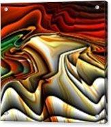 Colorful Abstract33 Acrylic Print
