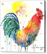 Colorful Alarm Clock Acrylic Print