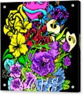 Colorful Art Love Bouquet Acrylic Print