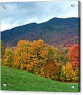 Autumnal Vermont Acrylic Print