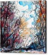 Colorful Autumn Acrylic Print