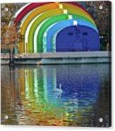 Colorful Bandshell Acrylic Print
