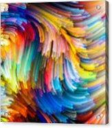 Colorful Beauty Acrylic Print
