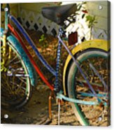 Colorful Bike Acrylic Print