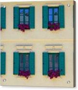 Colorful Building Acrylic Print